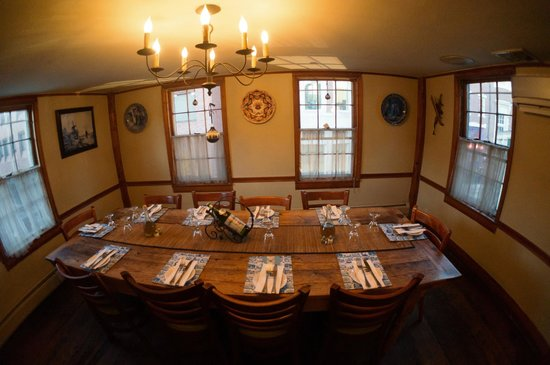 The Red House Restaurant: The Delft Room Can Comfortably Seat 10 To 12  Guests At