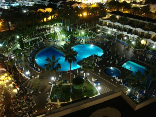 Iberostar Las Dalias: vue de notre balcon au 9eme etage