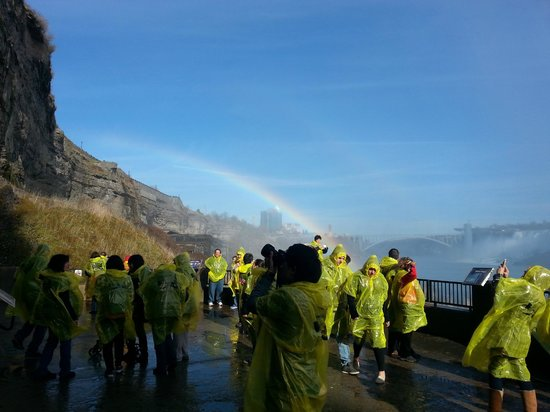 Journey Behind the Falls: Rainbow in November