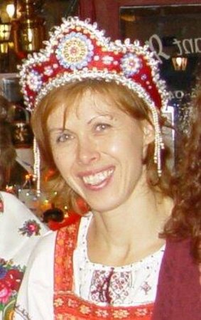Fleur de sel : Svetlana en costume russe