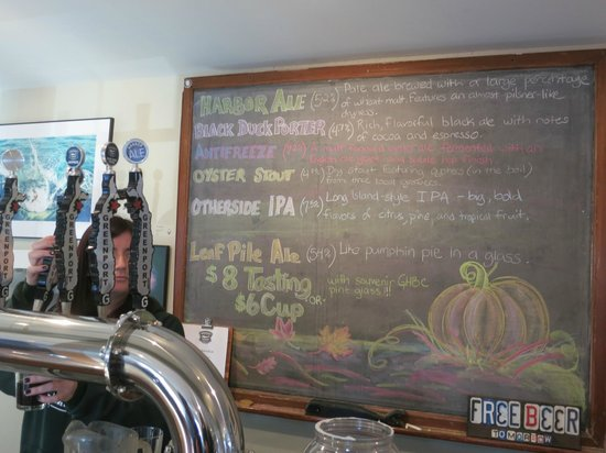 Greenport Harbor Brewing Co.: Today's Selection