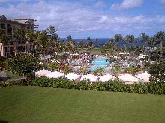 The Ritz-Carlton, Kapalua: view from lobby....