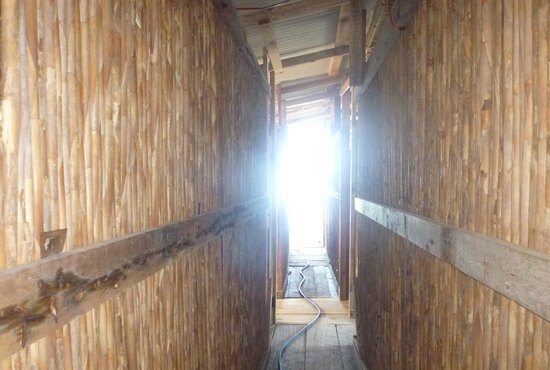Cabañas Ukuptupu: Pasillo