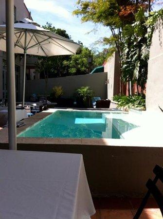 An African Villa: lovely terrac
