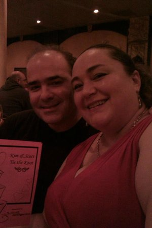 Sleuths Mystery Dinner Shows: Last year we saw Kim and Scott wedding and it rocked!