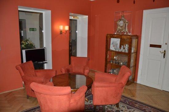 Hotel Elefant : salón de estar
