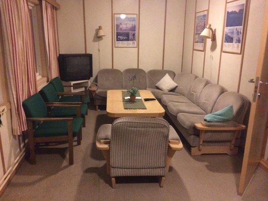 Gjestehuset 102 (Guest House 102): TV lounge first floor