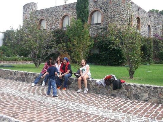Hacienda Cantalagua: La familia disfrutando