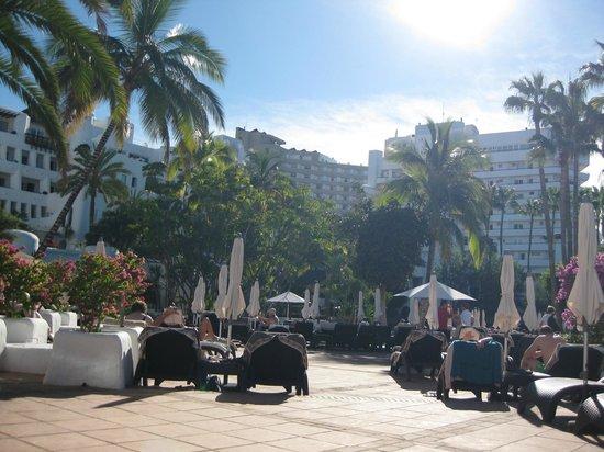 Hotel Jardin Tropical: Vid poolen/från solstolen