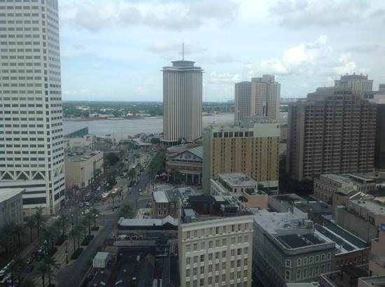 Sheraton New Orleans Hotel : View from 42 floor