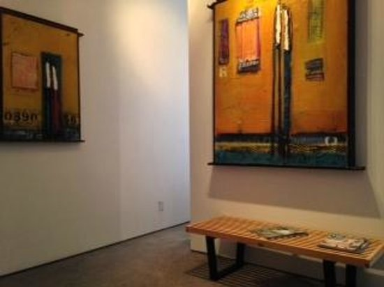 La Casa del Camino: Closeup of painting