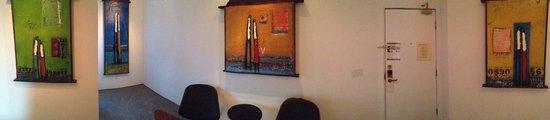 La Casa del Camino: Panoramic of living area of room/suite