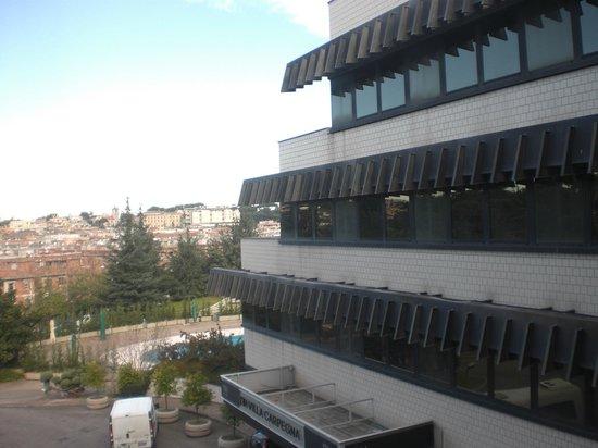 NH Roma Villa Carpegna: vista dalla cemera