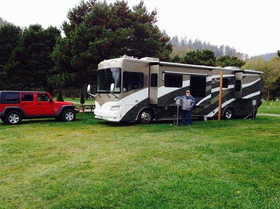 Klamath Camper Corral: Our Camp Site # 95