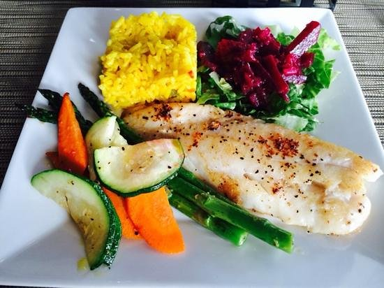 FIG: grilled Tilapia