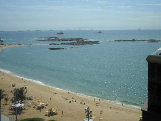Quality Suites Vila Velha : Vista da varanda 9º andar