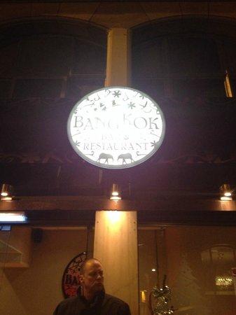 Curtain Near Bar/Entertainment Area - Picture of The Bangkok Bar ...