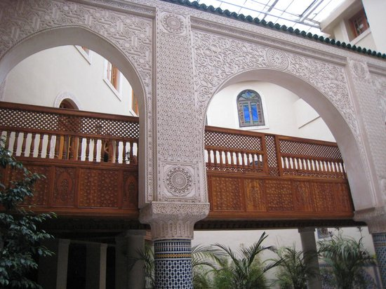 Riad Andalib: Ingresso