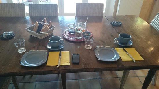 Villa Mercedes: petit déjeuner !