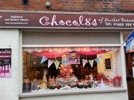 Market Bosworth, UK: For a magical trip down memory lane and a truly scrumptious chocolate experience, visit Chocol8s