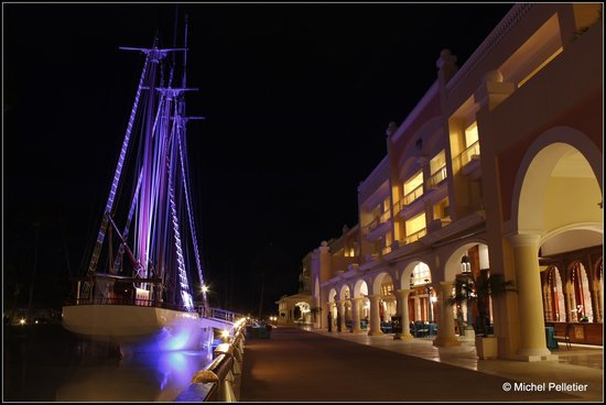 Iberostar Grand Hotel Bavaro: Tall ship in front of our room