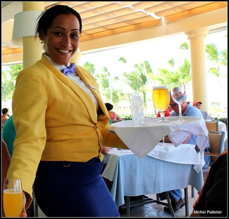 Iberostar Grand Hotel Bavaro: Everywhere a smile.