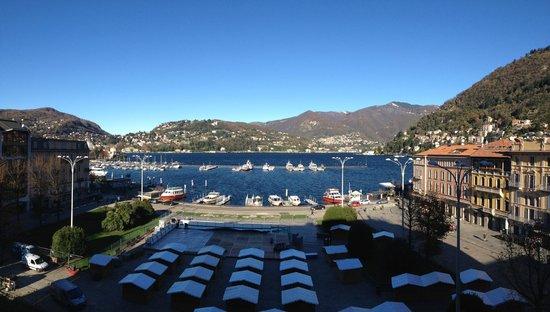 Hotel Barchetta Excelsior: Vista lago