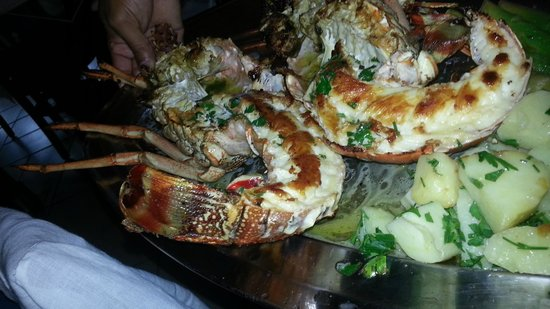 Rufino's: Langoustes grillees.