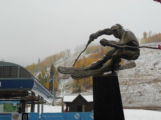 Vail Mountain Resort : The skier at Vail