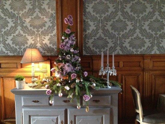 Hotel La Balance: Breakfast room decoration