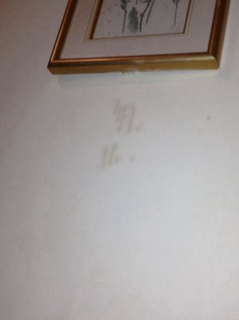 Pembridge Palace Hotel : Marks on wall