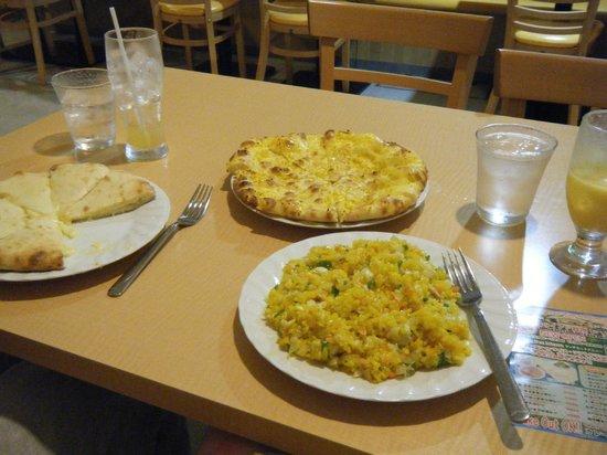 Hotel MyStays Asakusa: Essen des Indischen Restaurants