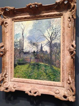 Saint Louis Art Museum: Pissarro - The Bell Tower of Bazincourt