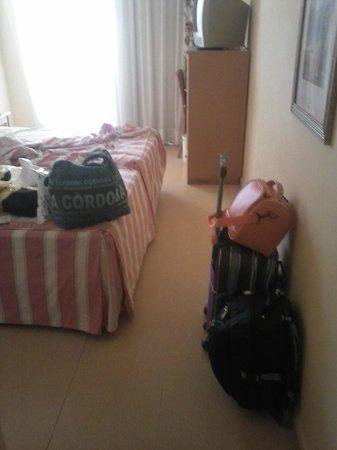 Playaluna Hotel: mi habitacion el dia de la partida