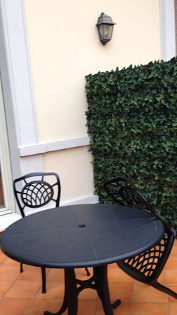 Hotel Degli Aranci: Balconcino della mia camera