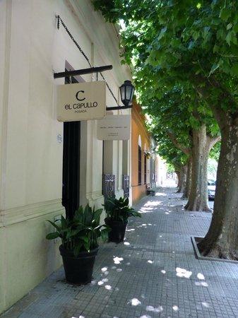 Posada El Capullo : Entrada