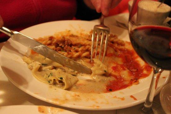 Becco : pasta trio
