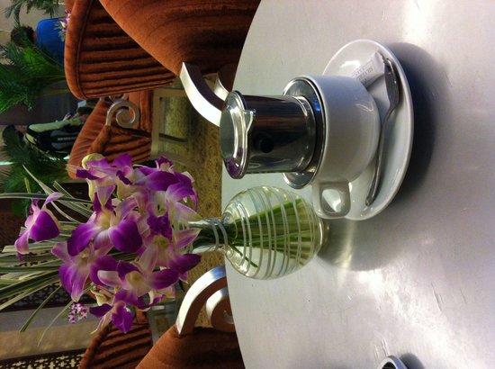 Grand Silverland Hotel & SPA : Coffee