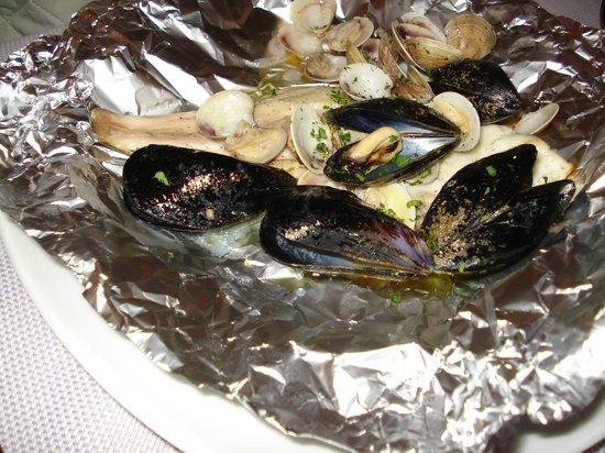 Oh per Bacco : Orata ai frutti di mare
