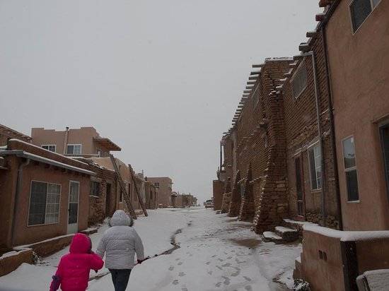 pueblo of acoma guys The acoma language is classified in the western division of the keresan language family[4] in contemporary acoma pueblo culture, most people speak both acoma and english.