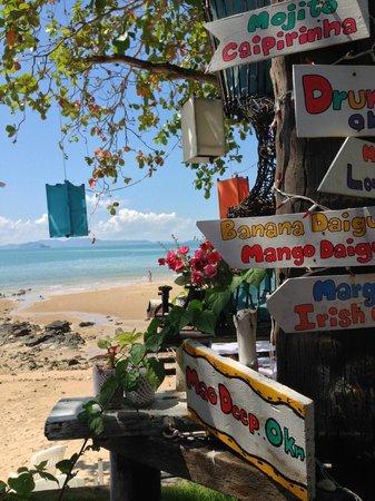 Sabai Ba Bar : View from restaurant