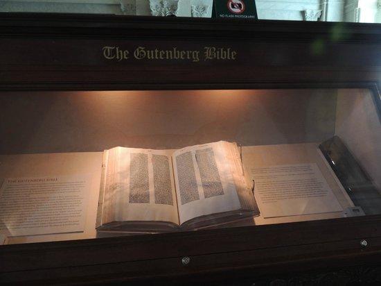 Biblioteca del Congreso: La Biblia de Gutenberg