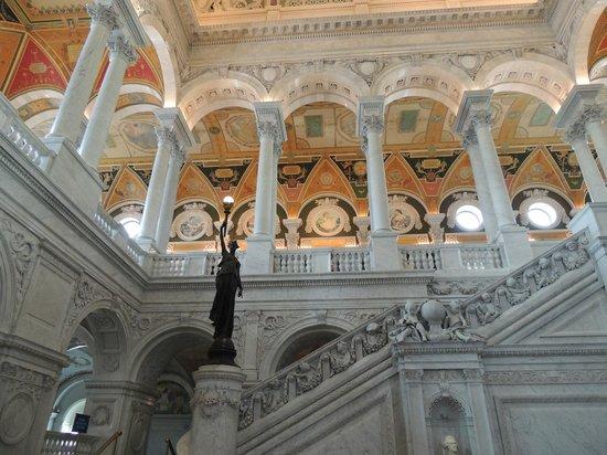 Biblioteca del Congreso: Interior