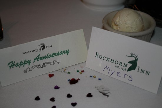 Buckhorn Inn: Great Attention to Detail. Perfect Romantic place for Anniversary