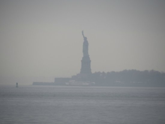 Kimpton Muse Hotel: Liberty Island - From a distance