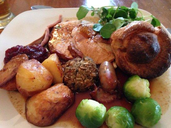 The Hurstbourne Inn: Roast Turkey Dinner Lovely!!