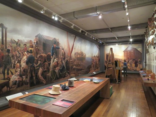 Hyde Park Barracks Museum: Bit of history on convicts