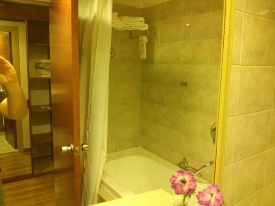 Crowne Plaza Hotel Haifa: Shower/Bathtub