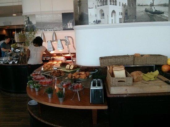 Crowne Plaza Hotel Haifa: part of breakfast buffet