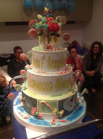 1 Compleanno Lorenzo Henry Picture Of Pasticceria Milady Marghera